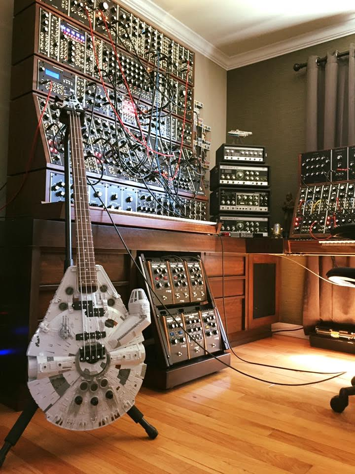 The Rebel Bass, Modular Synths and Tape Echoes - 2016