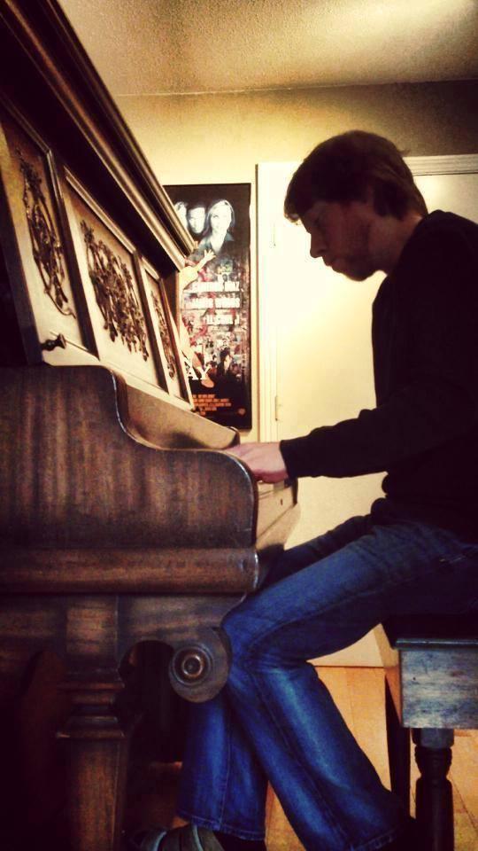Bill in the studio 2013