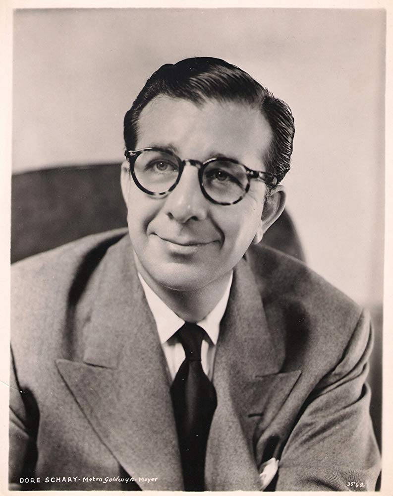 Oscar winner and former head of mgm, dore schary. Also known as dad.