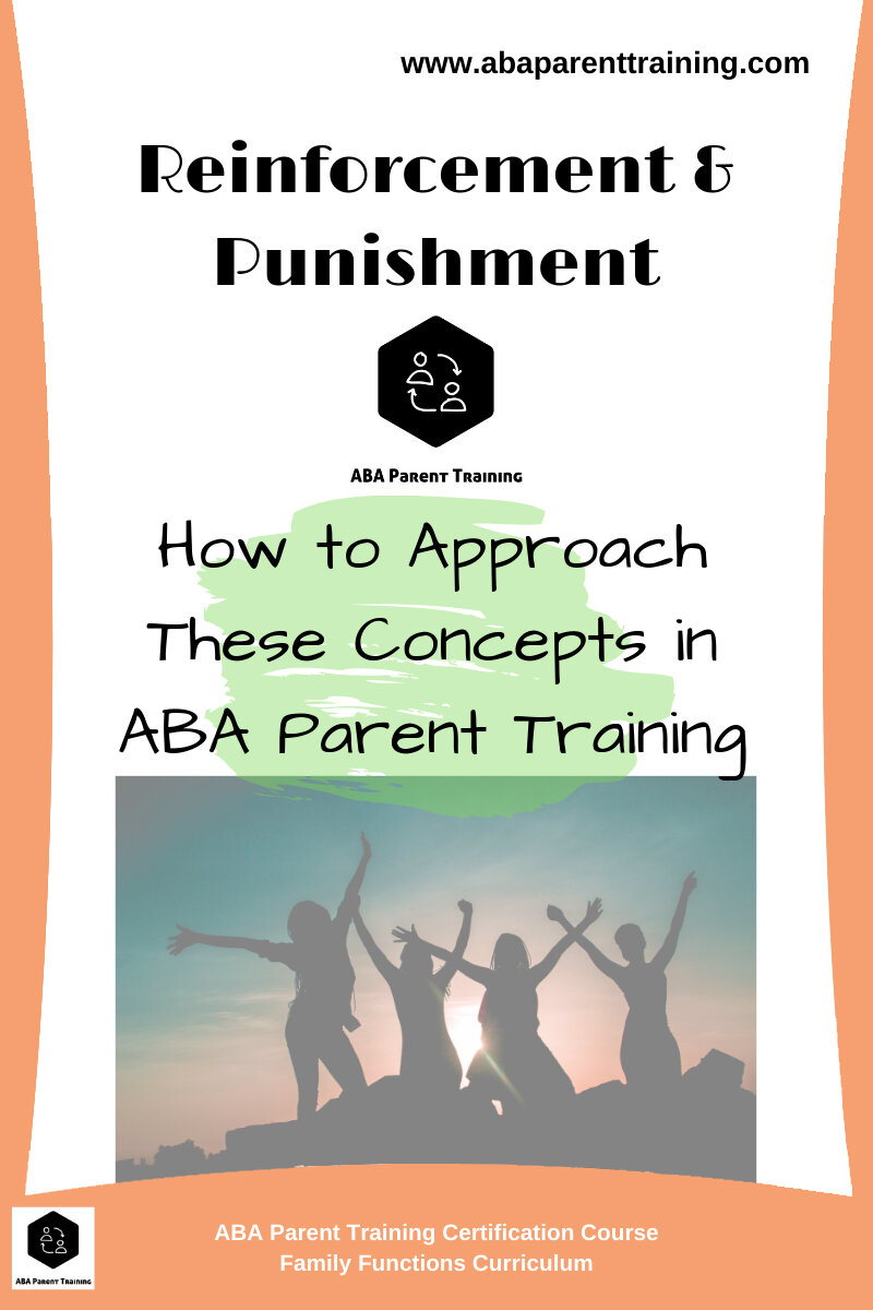 Unhelpful Punishment >> Reinforcement And Punishment How To Approach These Concepts In Aba