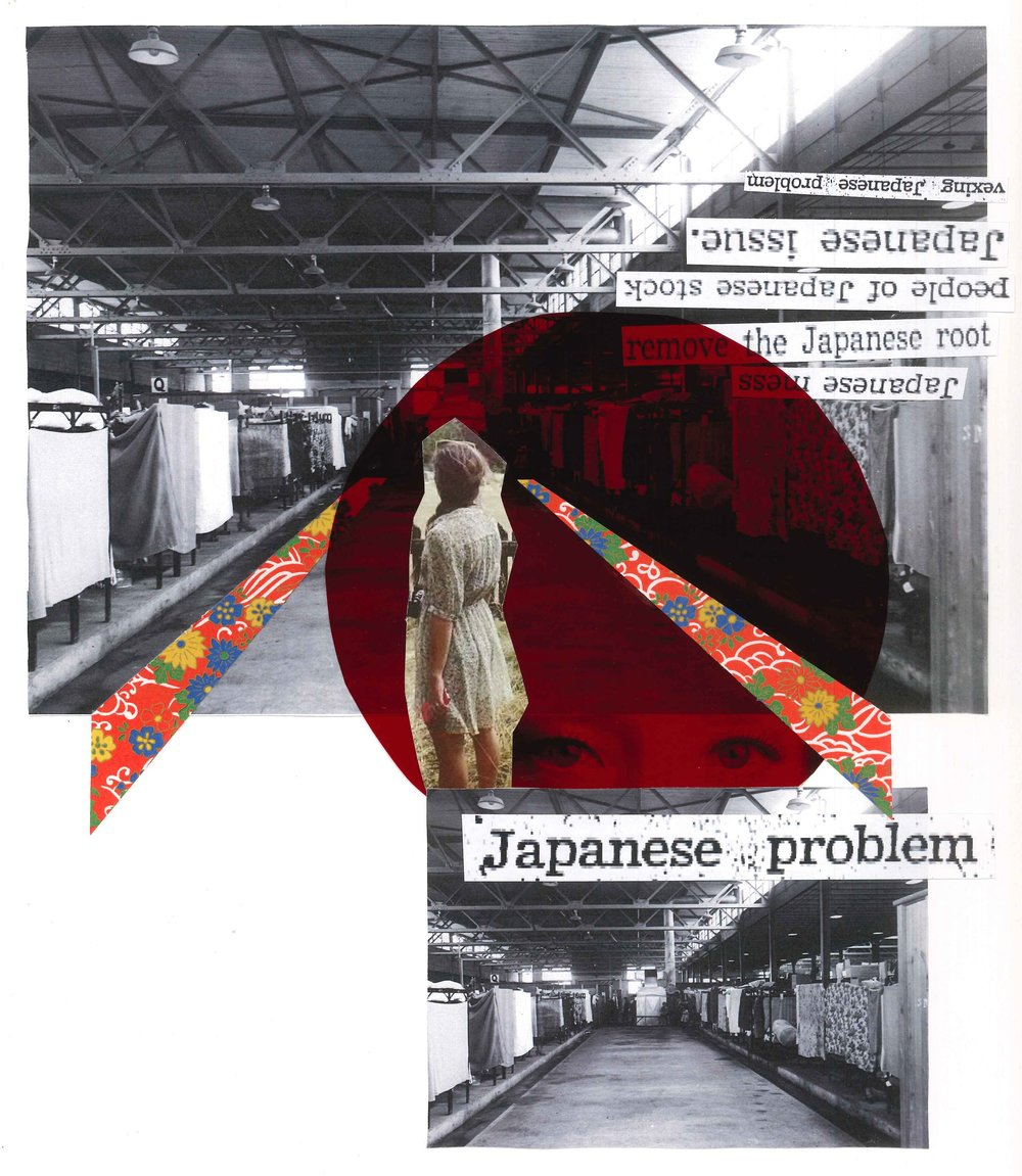 JAPANESE PROBLEM - In 1942, over 8,000 Canadians were detained in barns at Hastings Park. This is a small part of their story. Performed Sepetember 2017 & 2018 Site Specifically at Hastings Park in Vancouver, B.C. Toured to various parts of B.C., as well as an October 2018 run at Soulpepper Theatre Company in Toronto, ON. Developed by collaborators Yoshié Bancroft, Joanna Garfinkel, Sindy Angel, Daniel Deorksen, Brent Hirose, and Nicole Yukiko with contributions from Laura Fukumotot, Carolyn Nakagawa, Cecile Roslin and. Muish Sharma.Check out the official Japanese Problem website here.