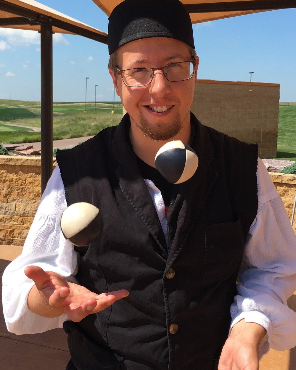 Professional Juggler Ryan McCormick