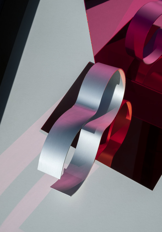 Julia Burke,  Rhythmic (Ribbon #1) , 2019, archival C-type print mounted on Dibond, 42x60cm