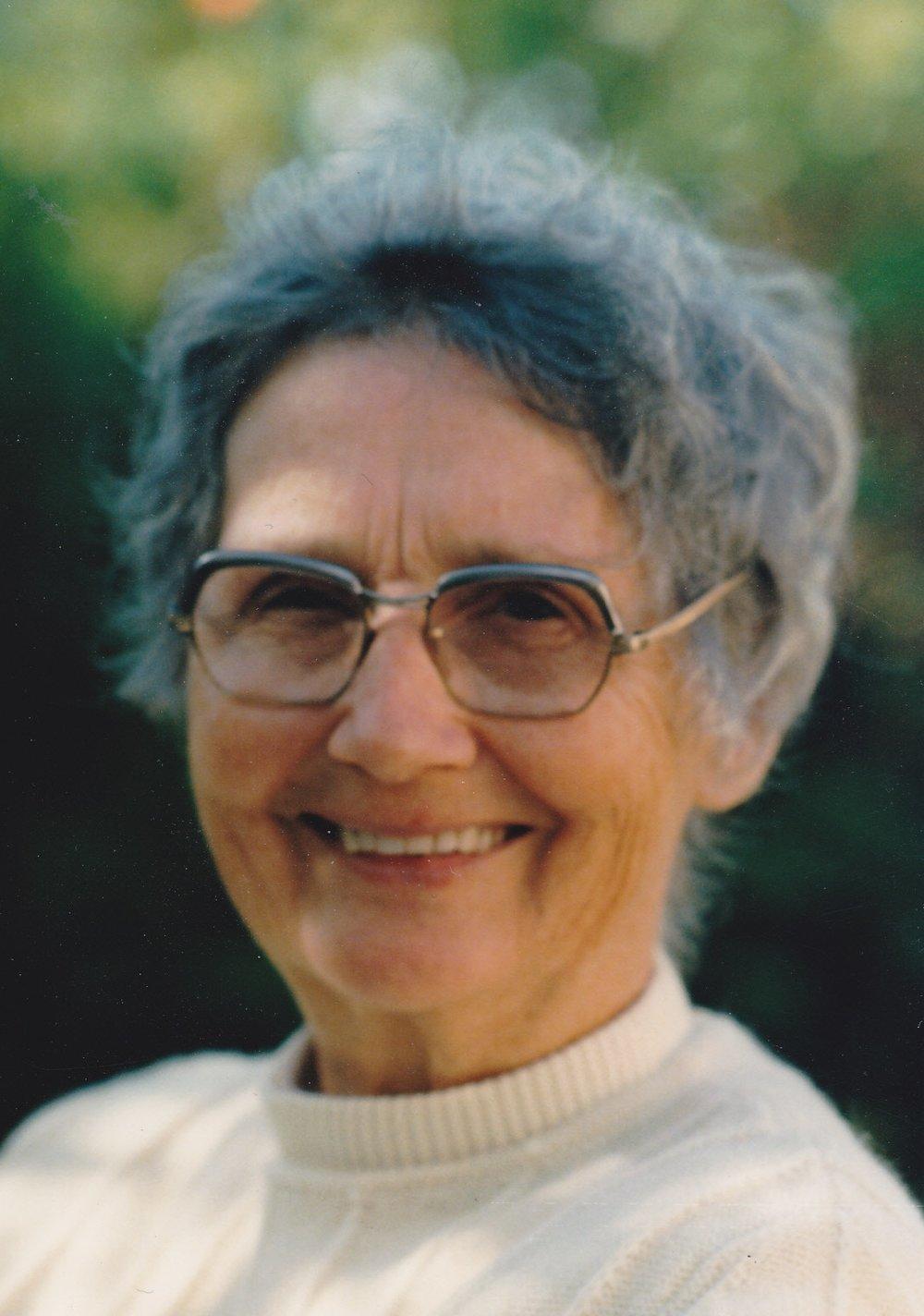 Dorothea Snook, circa 1983 (c) Snook Family