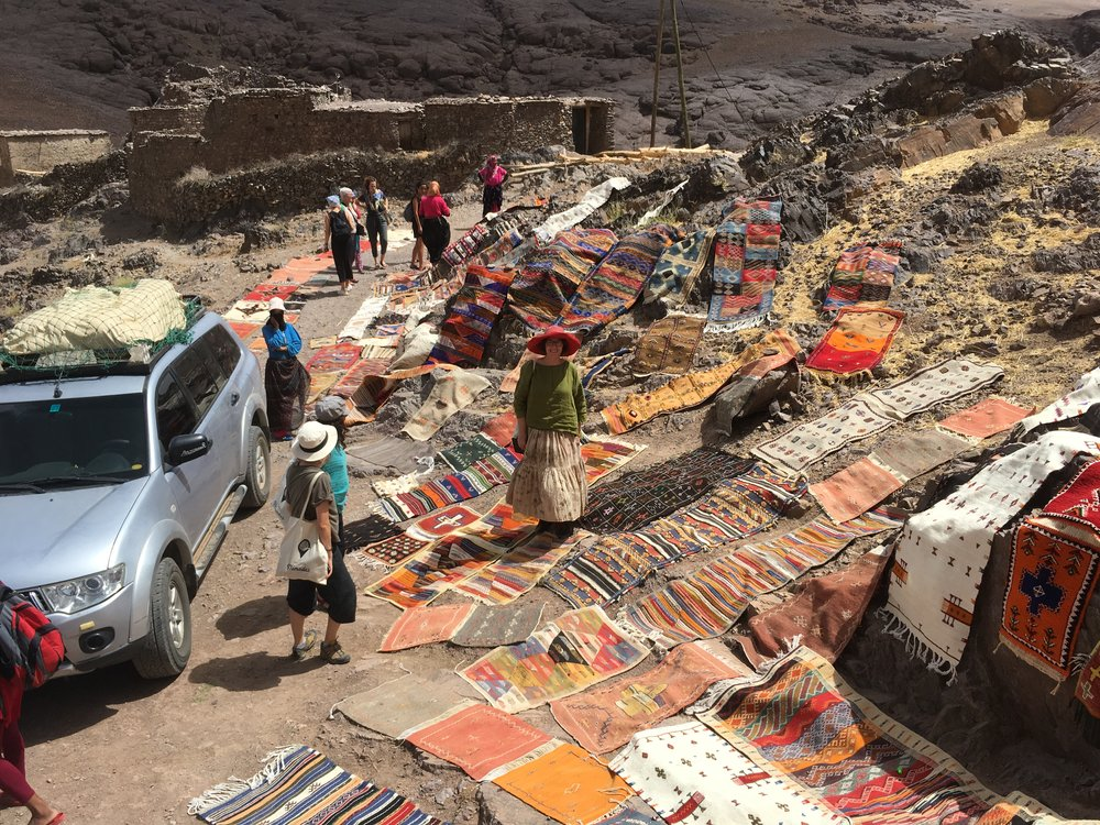 Montañas de Marruecos31 julio - 4 de agosto 2019 - una aventura al origen de las alfombras