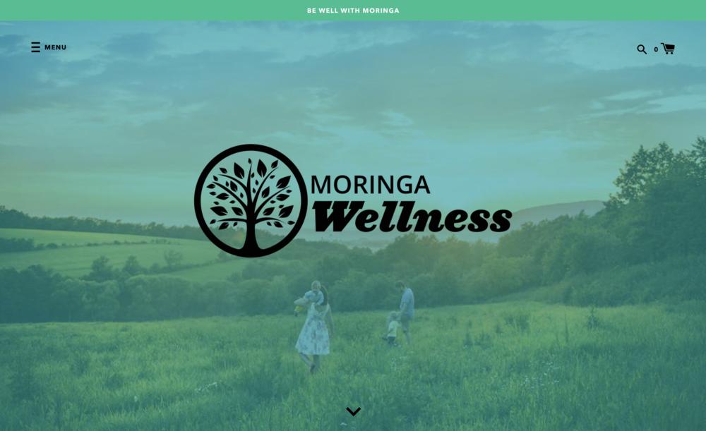 International E-Commerce Design and Build for  Moringa Wellness  (under construction)
