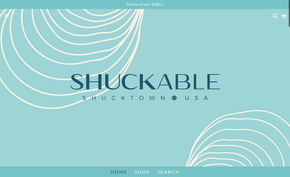E-Commerce Website Design and Build for   Shuckable