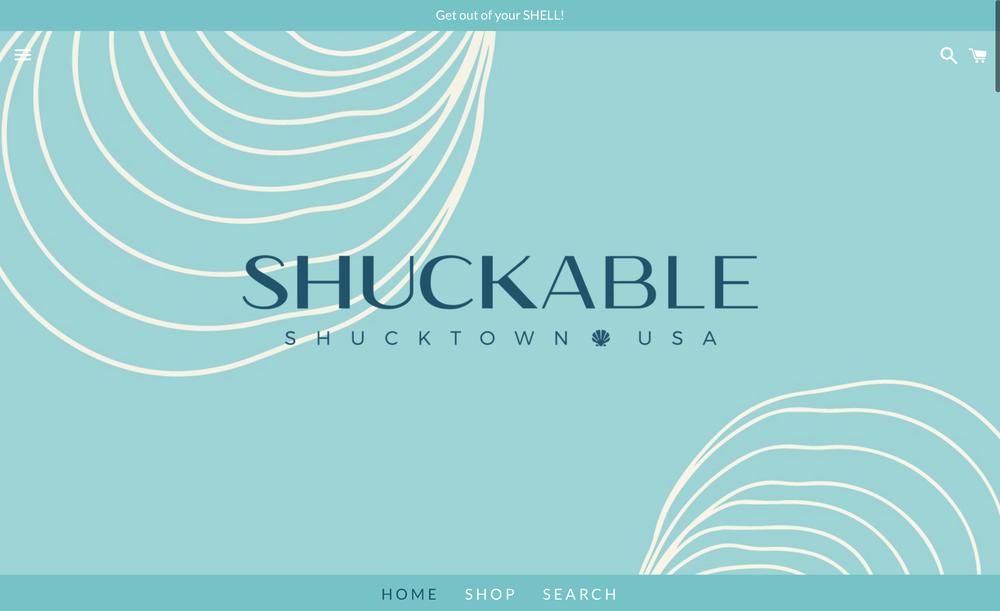E-Commerce Website Design and Build for   Shuckable