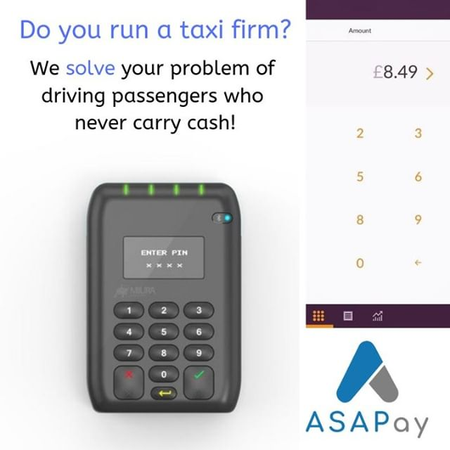Are you a #taxi company? Give #Uber a run for their money and take  card payments in #cabs. Only £9.95 per car per month + 5p per transaction.  Accept gratuity payments & see all #cash & #cardpayments in one reporting platform. Get in touch for a free demo!! #privatehire #creditcard #debitcard #cashless #Contactless #UK