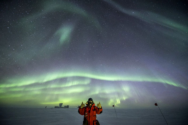 A South Pole Record - Robert Schwarz Has An Unparalleled History Of Wintering At The South Pole