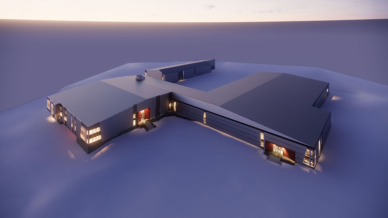 A Next-Generation Antarctic Science Station - National Science Board Authorizes NSF To Begin Revitalization Of McMurdo Station