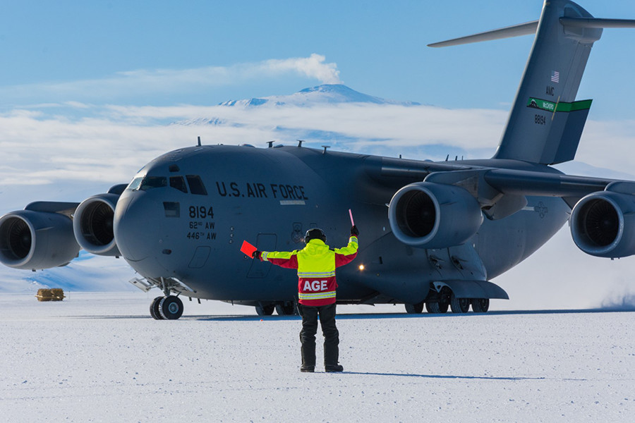 Phoenix Rising - McMurdo Station's Newest Airfield Passes Its Biggest Test
