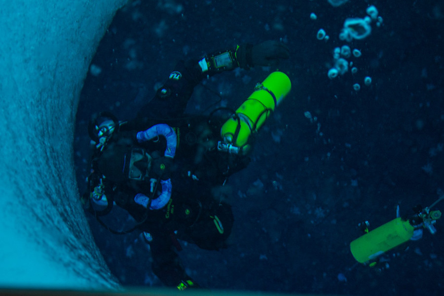 A Re-Breath Of Fresh Air - Divers Test New Underwater Diving Systems