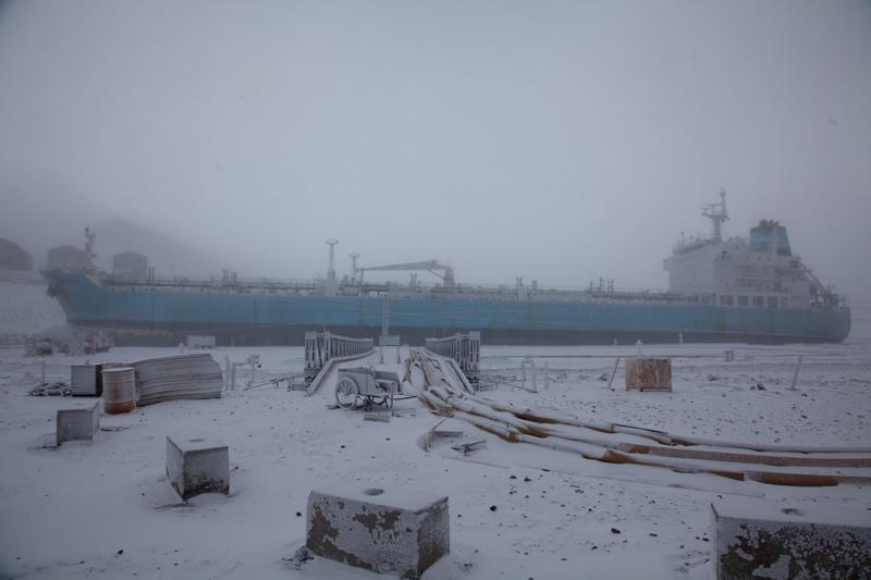 As Residents Depart, Winter Arrives -