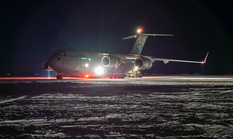 Successful Flights Means More Access To McMurdo In Winter -