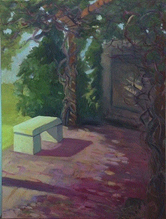 Artist Nancy Sterling Tyler  Painter of outdoor scenes and landscapes