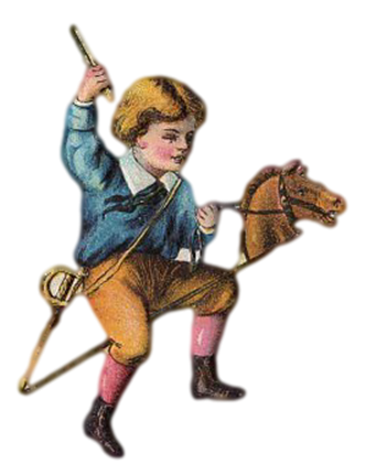 Boy horse
