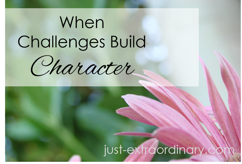 When Challenges Build Character just-extraordinary.com