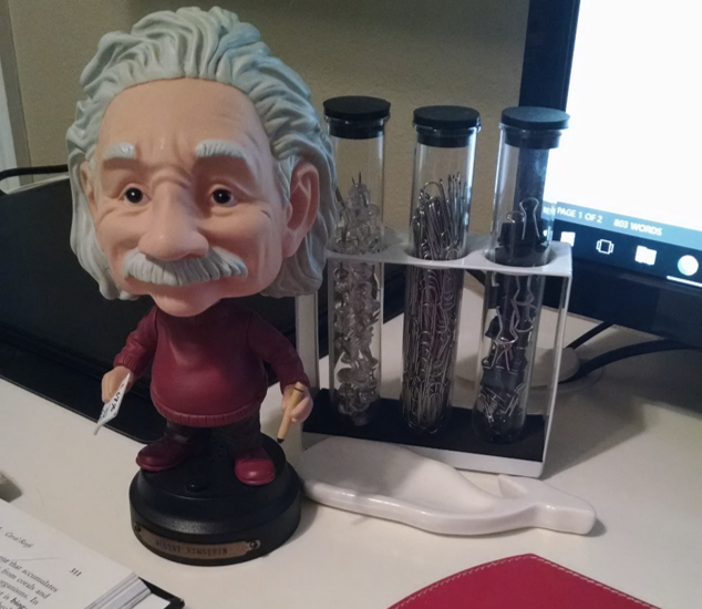 My desk-top friend!