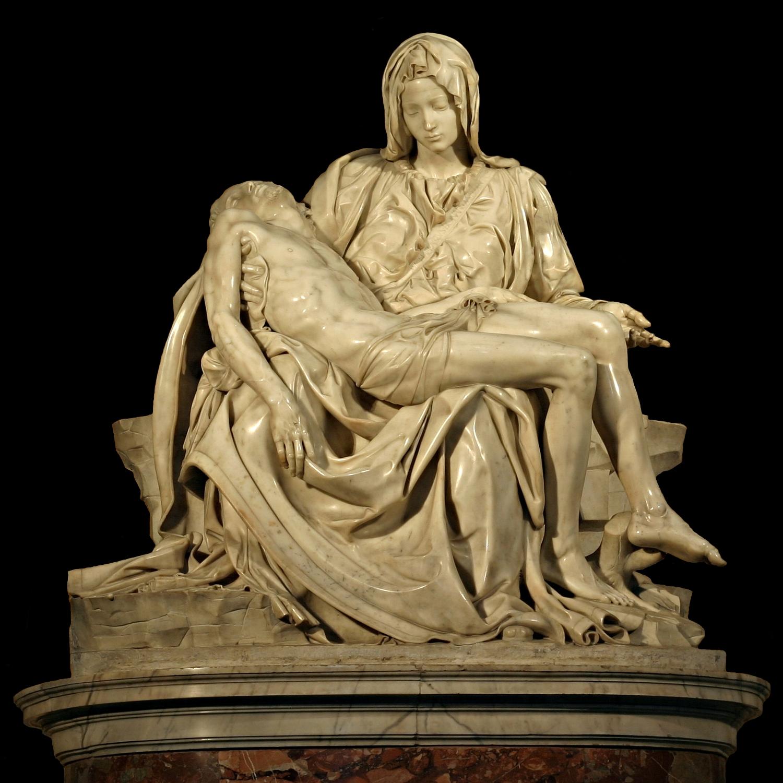 Michelangelo's_Pieta_5450_cut_out_black