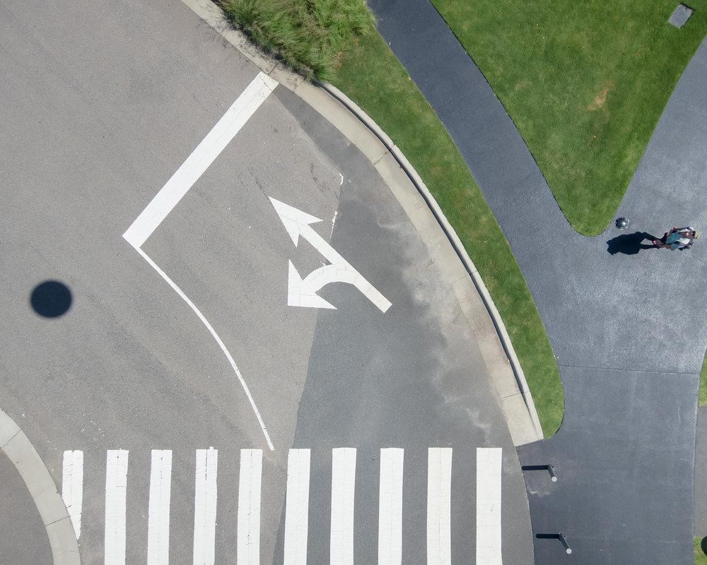 Looking Down, NCMA, Detail