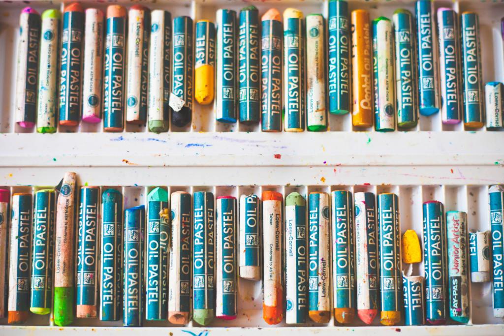 Playroom Artwork - Crayon Art