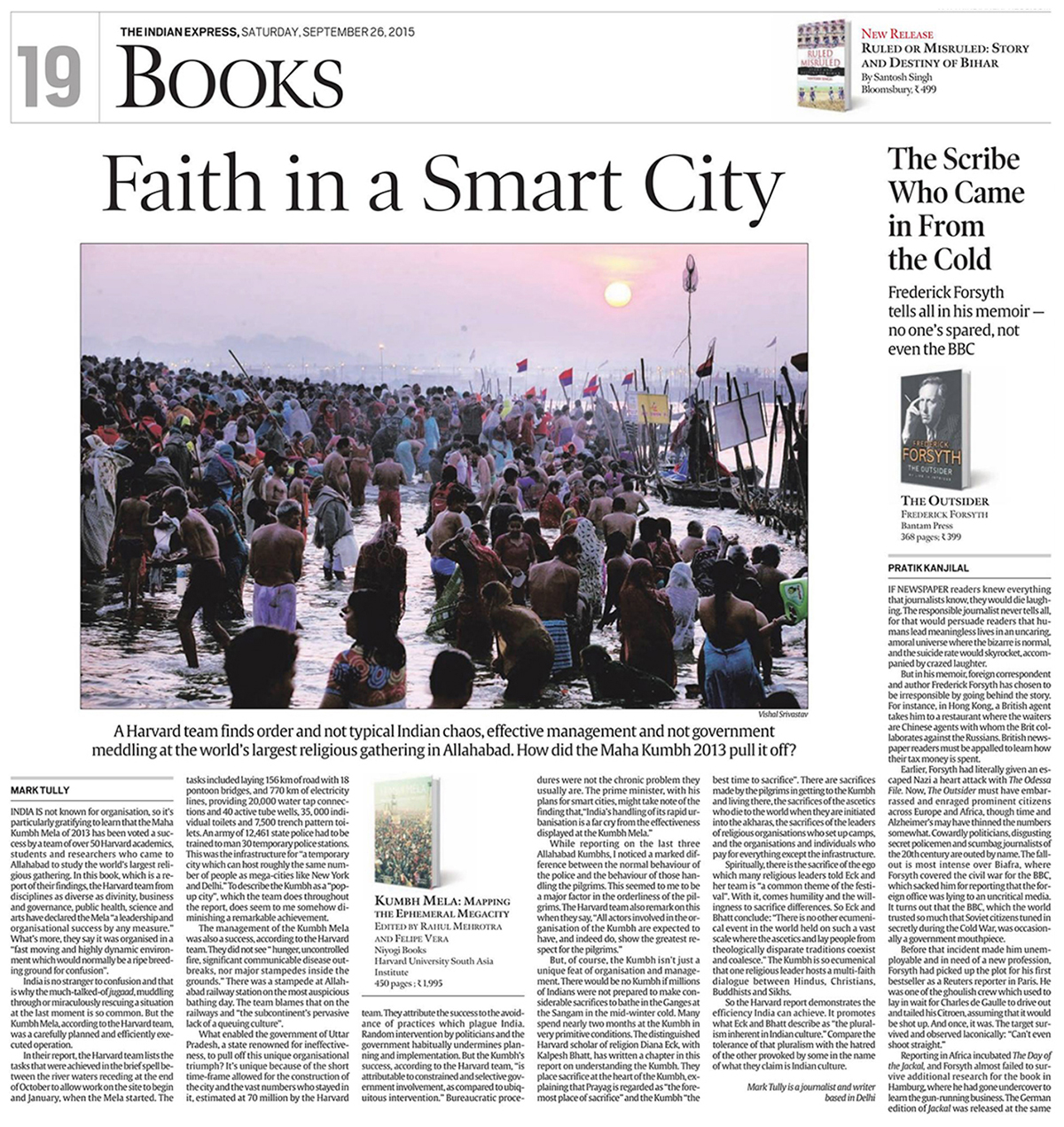 Indian Express - Faith in the Smart City