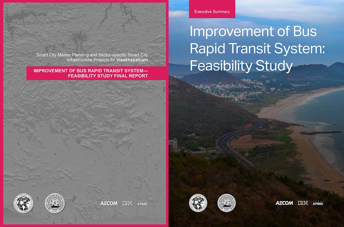 Vineet Diwadkar Launch Of Improvement Of Bus Rapid Transit System Feasibility Study Visakhapatnam