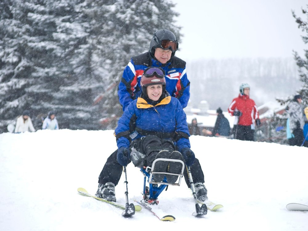 A mono-ski for a skier with a disability: - $5550