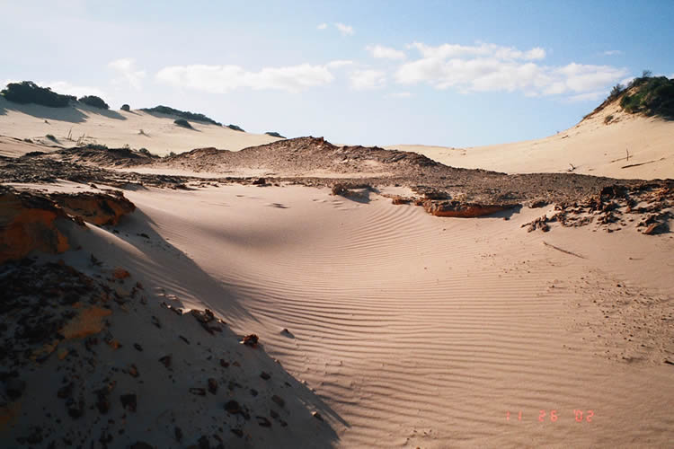 Sand Hills at Fraser Island