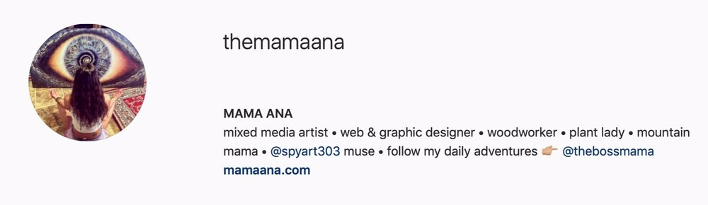 FOLLOW MAMA ANA