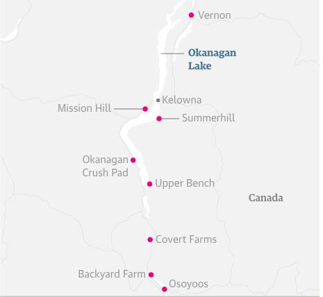 okanagan map