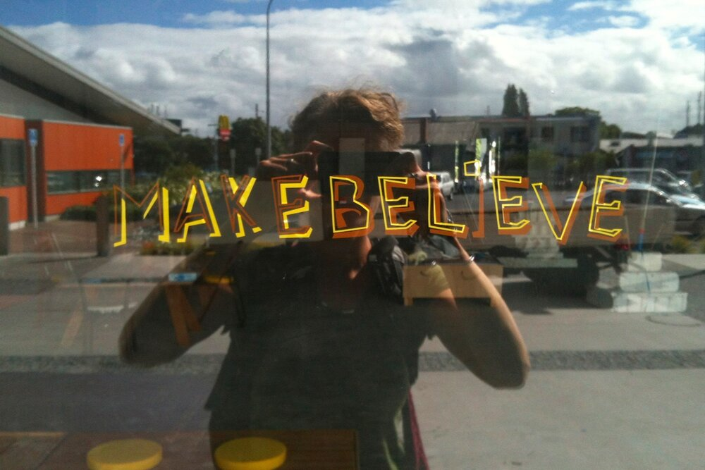 Make Believe - Make Believe: Imagining a new park for New Lynn was a sequence of projects developed by HOOP-LA to help Auckland Council staff and local residents imagine the potential of a new urban park.