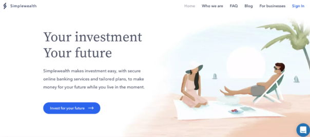 Start investing with Simplewealth