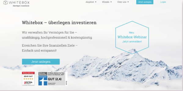 Start investing with whitebox