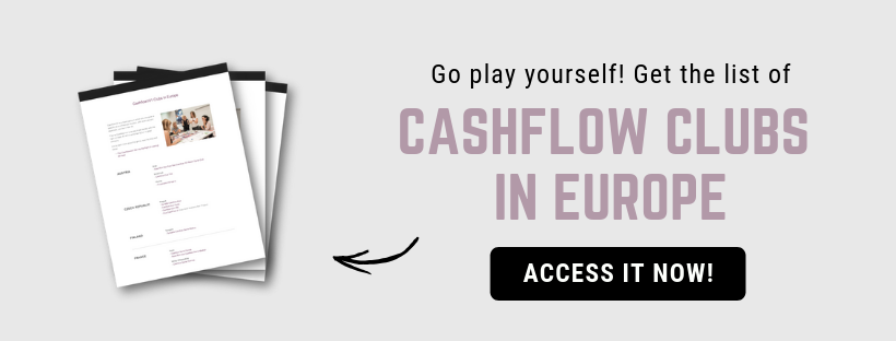 Money mindset - Get the list of Cashflow clubs in Europe
