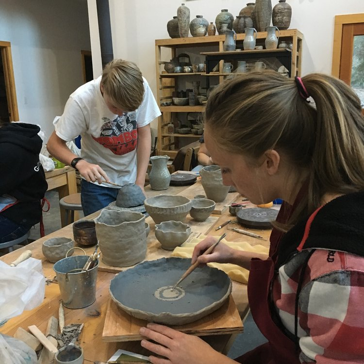 Classes and Workshops - Always wanted to work with clay, consider taking a class or workshop.