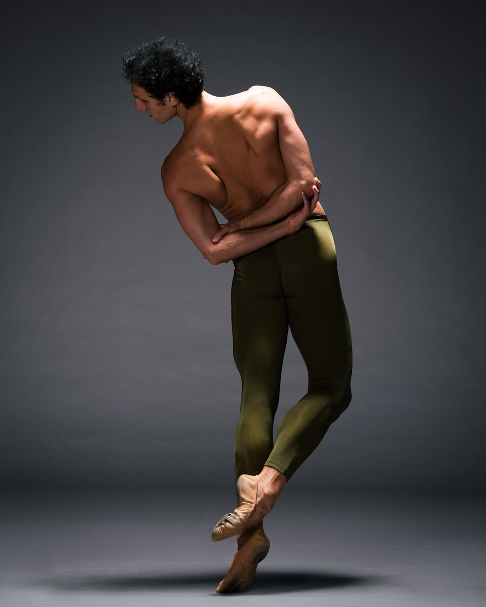"""At 6' 3"" and a dead ringer for Michelangelo's David, Luciano is a mighty presence. He evokes an animal energy with his seemingly endless lines."" - Nancy Wozny for Pointe Magazine January 2010."