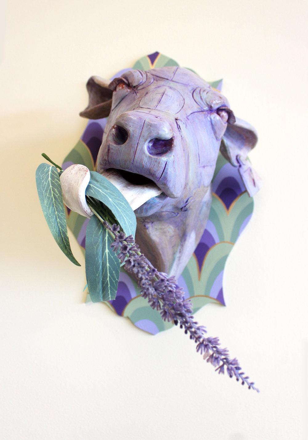 Lavender Menace (detail)