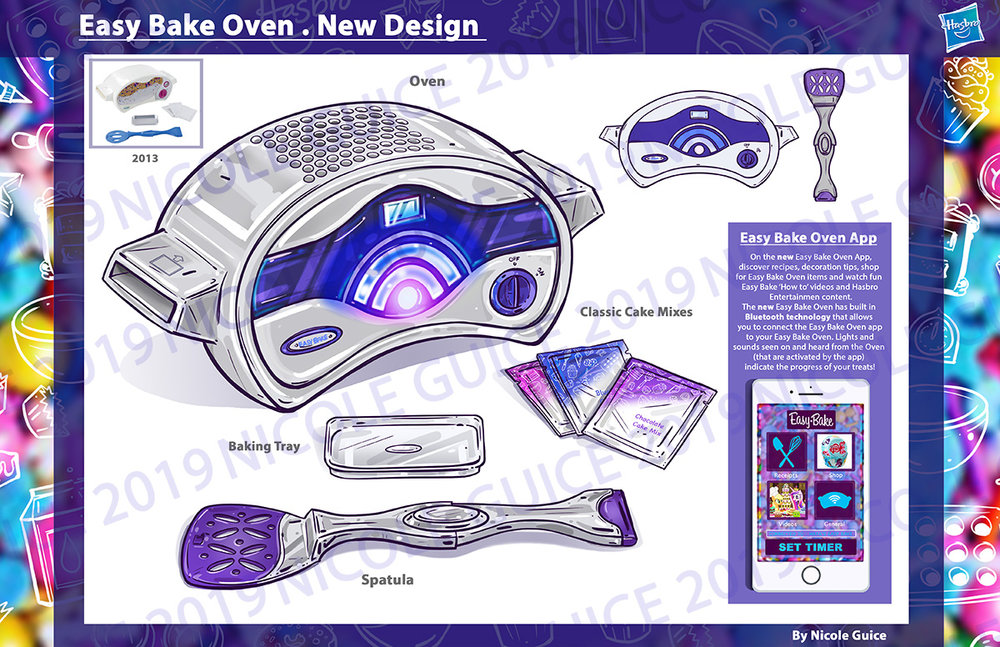 Easy Bake Oven - CP Concept Spec work