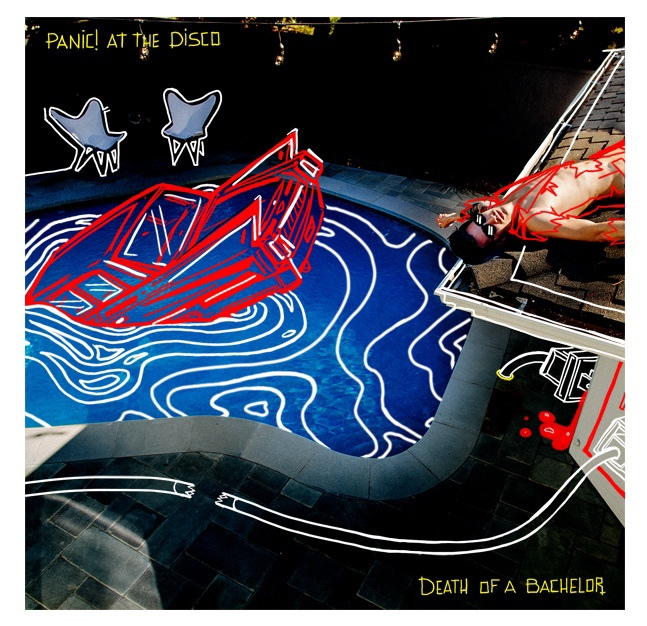 Panic at the Disco. Death of a Bachelor - Album artwork and Design