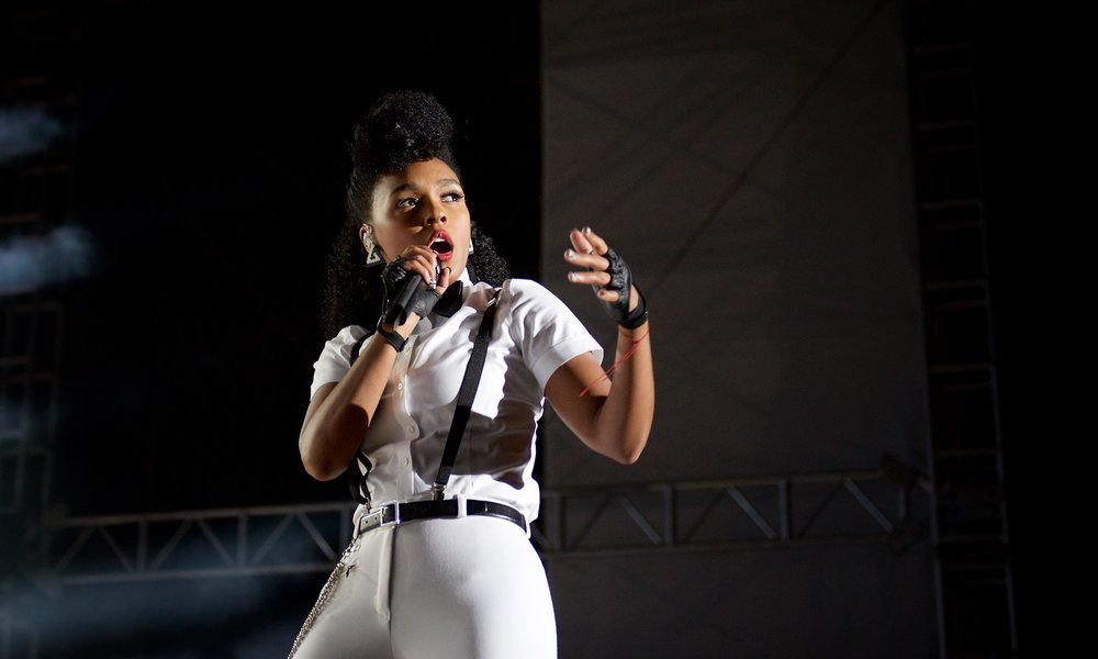 Janelle MonáE - Day for Night Music Festival, Houston, TX
