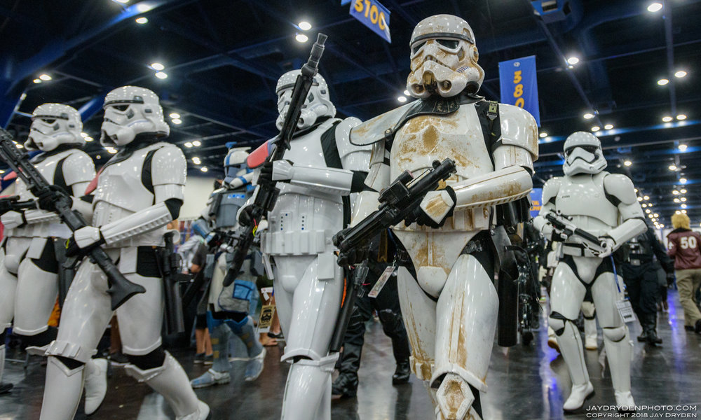 Comicpalooza 2017 - These ARE the fans you are looking for