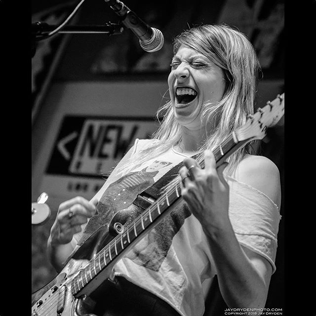 Eva Hendricks performs with Charly Bliss during their in-store at Cactus Music, Houston's oldest indie music store, January 27, 2018. @cactus_music  @charlybliss . . . . . . . . #concert #cactusmusic #concertphotography #d600 #firstthreesongs #ilovehou #instore #instoreperformance #livemusic #musicphotography #nikond600 #nikonusa #teamnikon