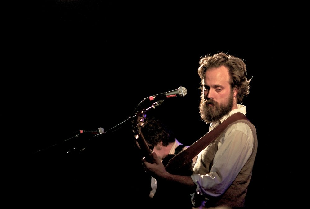 Sam Beam performs with Iron & Wine at Fitzgerald's, Houston, TX. November 21, 2010