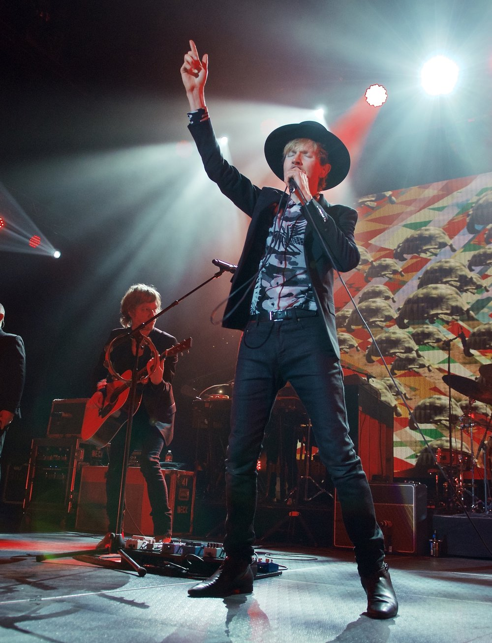 Beck performs at Revention Music Center (formerly Bayou Music Center), October 9, 2014