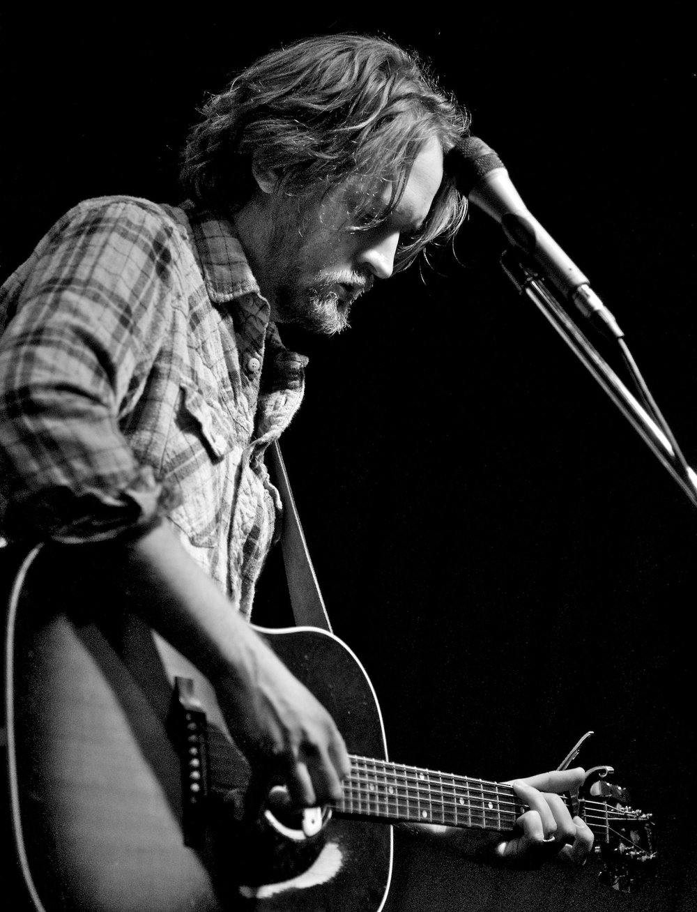 Hayes Carll performs at The Continental Club, Houston, TX. January 14, 2012