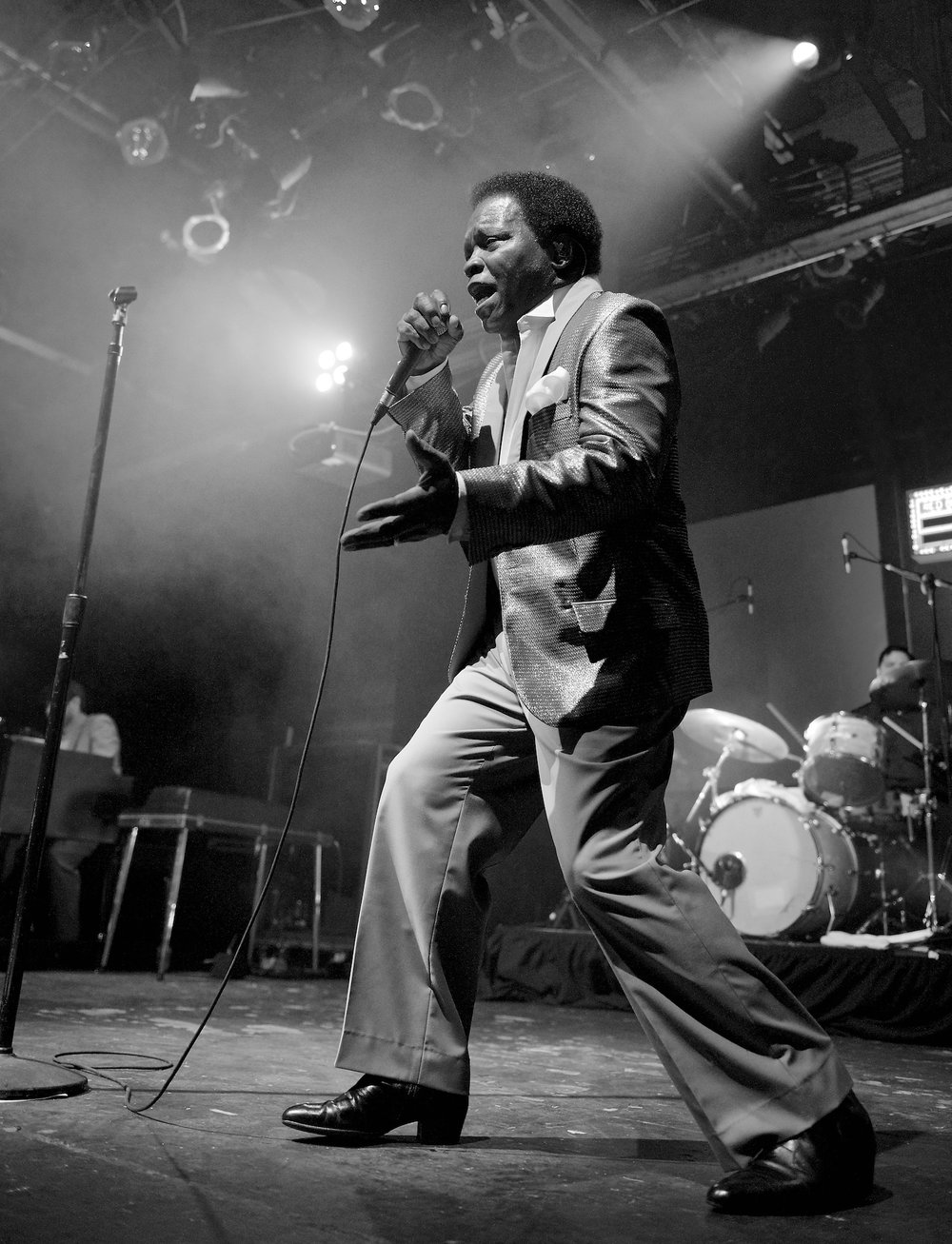 Lee Fields and The Expressions perform at Warehouse Live Ballroom, December 20, 2014