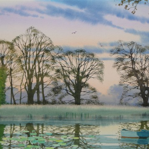 Douglas Haddow Watercolours