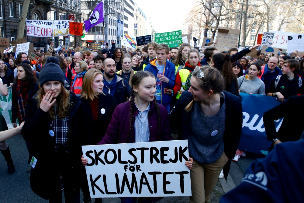 """""""I want you to act as you would in a crisis. I want you to act as if our house is on fire. Because it is."""" - – Greta Thunberg"""